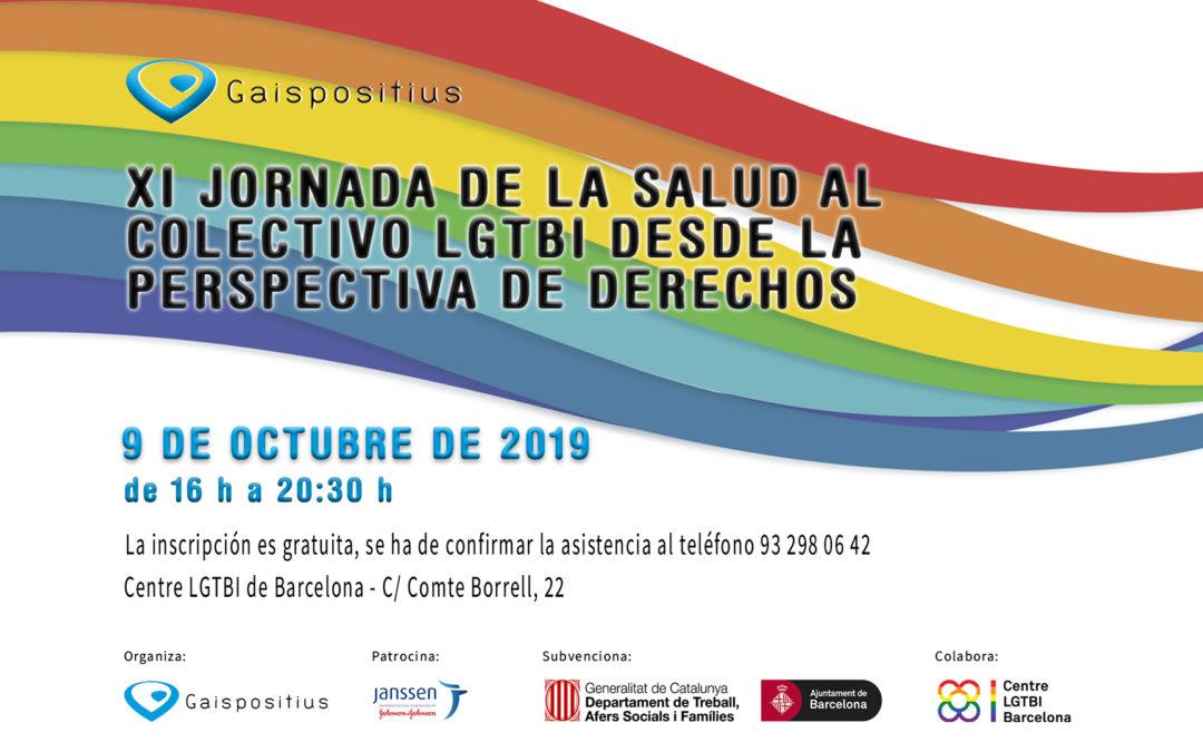 XI jornada de la salud al colectivo LGTBI desde la perspectiva de derechos