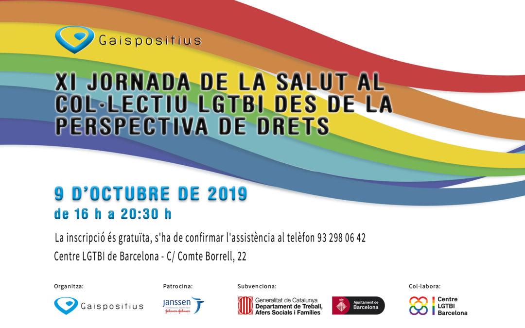 XI jornada de la salut al col·lectiu LGTBI des de la perspectiva de drets